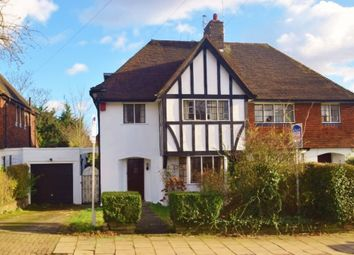Thumbnail 4 bedroom semi-detached house for sale in Cornwood Close, London