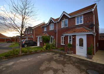 Thumbnail 3 bed semi-detached house for sale in Chesham Court, Ellesmere Port
