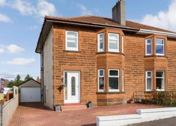Thumbnail 3 bed semi-detached house for sale in Cornwall Avenue, Burnside, Glasgow, South Lanarkshire