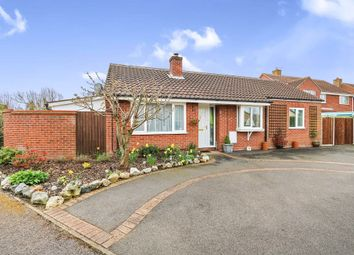 Thumbnail 3 bedroom detached bungalow for sale in Sancroft Way, Fressingfield, Eye