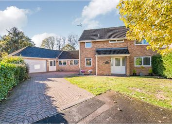Thumbnail 5 bed detached house for sale in Holmewood Crescent, Holme, Peterborough
