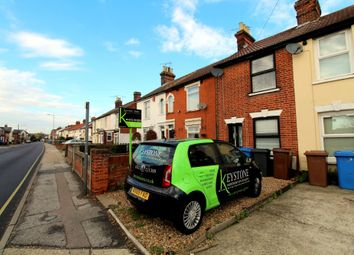 Thumbnail 2 bed terraced house to rent in Bramford Road, Ipswich, Suffolk