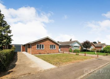 Thumbnail 3 bedroom detached bungalow for sale in Walnut Grove, Worlington, Bury St. Edmunds