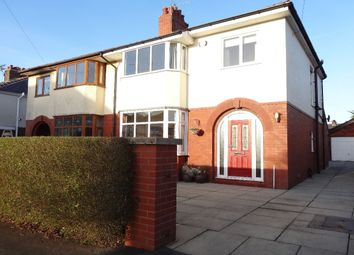 Thumbnail 3 bed semi-detached house for sale in Carleton Avenue, Fulwood, Preston