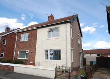 Thumbnail 2 bed semi-detached house for sale in Gordon Road, Blyth