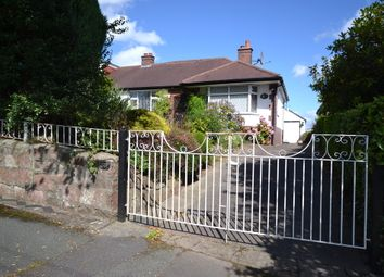 Thumbnail 2 bed semi-detached bungalow for sale in Northwood Lane, Clayton, Newcastle-Under-Lyme