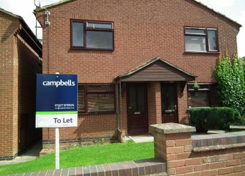Thumbnail 1 bed semi-detached house to rent in Ridley Court, Golding Close, Daventry