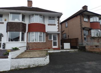 Thumbnail 3 bed semi-detached house to rent in Valiant Avenue, West Park, Plymouth
