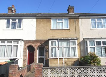 Thumbnail 2 bed terraced house for sale in Hazelwood Road, Bedford, Bedfordshire