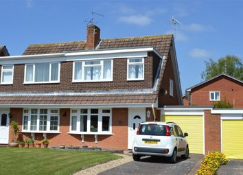 Thumbnail 3 bedroom semi-detached house for sale in Fleming Avenue, Sidmouth, Devon