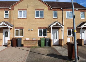 Thumbnail 2 bed terraced house to rent in Sixfields Close, Lincoln