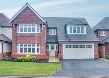Thumbnail 5 bed detached house for sale in Norris Close, Aston Fields, Bromsgrove