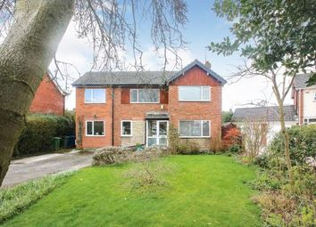Thumbnail 4 bed detached house for sale in Exeter Close, Cheadle Hulme, Cheshire