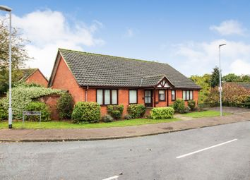 Thumbnail 3 bed detached bungalow for sale in Sidell Close, Cringleford, Norwich
