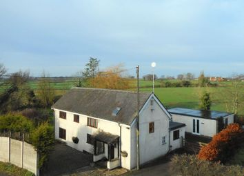 Thumbnail 4 bed detached house for sale in Middlewich Road, Leighton, Crewe