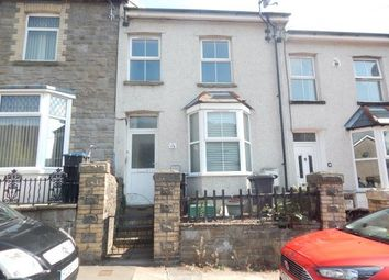 Thumbnail 3 bed terraced house to rent in Queen Street, Abertillery