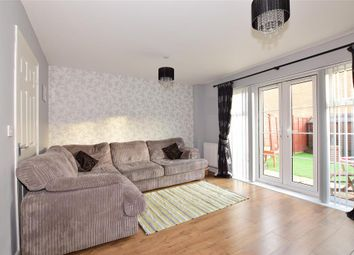 Thumbnail 3 bed town house for sale in Eustace Crescent, Strood, Rochester, Kent