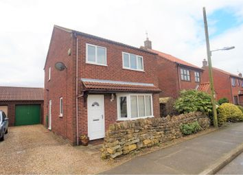 Thumbnail 3 bed detached house for sale in Green Man Road, Navenby