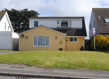 Thumbnail 3 bed detached house for sale in Gurnick Road, Penzance