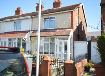 Thumbnail 3 bed end terrace house for sale in Ellesmere Road, Blackpool