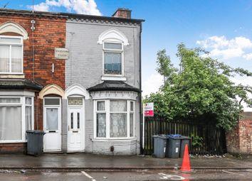 Thumbnail 3 bed end terrace house for sale in Ash Road, Saltley, Birmingham