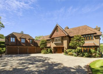 6 bed detached house for sale in Broomfield Ride, Oxshott, Leatherhead, Surrey KT22