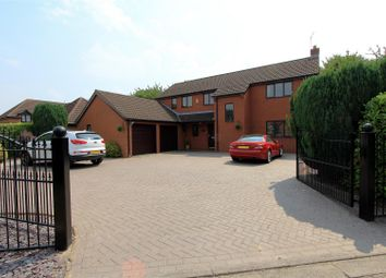 Thumbnail 4 bed detached house for sale in The Paddocks, Werrington, Peterborough