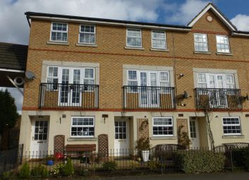 Thumbnail 3 bedroom town house for sale in Lakeview Way, Hampton Hargate, Peterborough