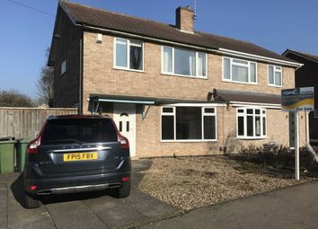 Thumbnail 3 bed semi-detached house for sale in Clovelly Road, Glenfield, Leicester