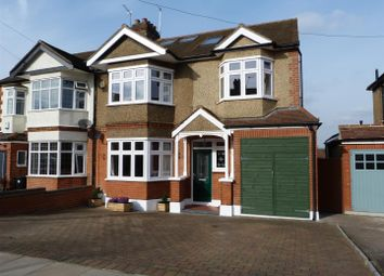 Thumbnail 5 bed semi-detached house for sale in Park Nook Gardens, Enfield