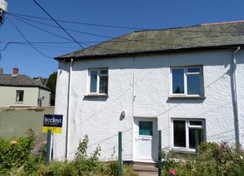 Thumbnail 2 bed end terrace house to rent in Oxford Terrace, Sandford, Crediton, Devon