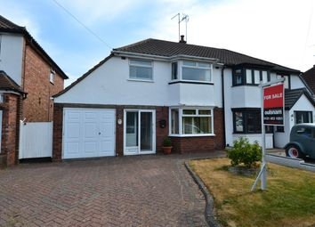 Thumbnail 3 bedroom semi-detached house for sale in Windmill Avenue, Rubery, Birmingham