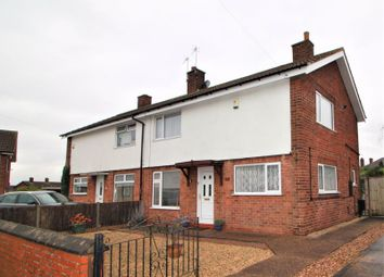Thumbnail 3 bed semi-detached house for sale in Merryweather Close, Edwinstowe, Mansfield