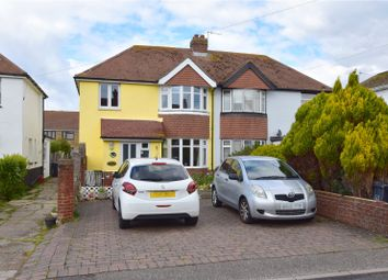 Thumbnail 3 bedroom semi-detached house for sale in Kings Road, Lancing, West Sussex
