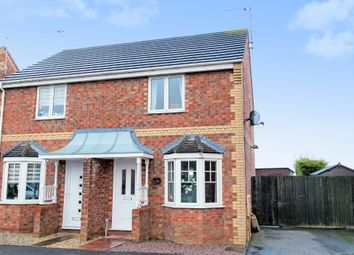 Thumbnail 2 bed semi-detached house for sale in Fishtoft, Boston