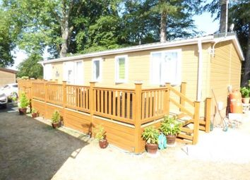 Thumbnail 2 bed mobile/park home for sale in East Bergholt, Colchester, Suffolk