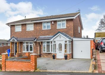 Thumbnail 3 bed semi-detached house for sale in Amison Street, Meir Hay, Stoke-On-Trent