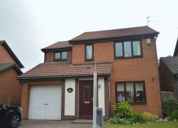 Thumbnail 4 bed detached house for sale in Abbots Way, North Shields