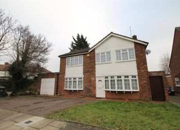Thumbnail 4 bed detached house for sale in Woodpecker Close, Edmonton