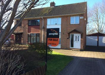 Thumbnail 3 bed semi-detached house for sale in Tarran Avenue, Beverley Road, Hull