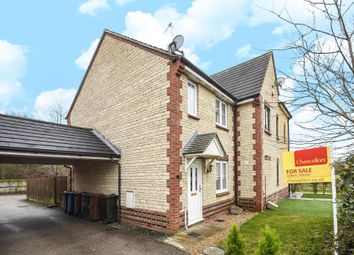 Thumbnail 2 bed end terrace house for sale in Dunnock Close, Bicester