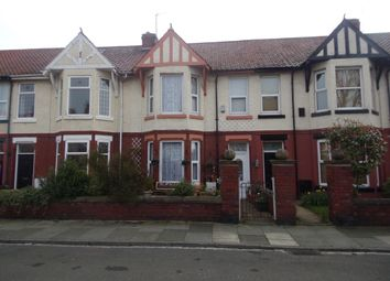 Thumbnail 4 bed terraced house for sale in Granville Avenue, Hartlepool