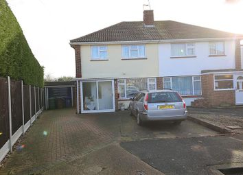 Thumbnail 3 bed semi-detached house for sale in Branksome Close, Stanford-Le-Hope