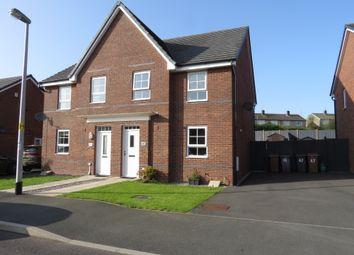 Thumbnail 4 bed semi-detached house for sale in Weavers Avenue, Frizington, Cumbria