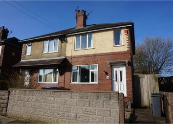 Thumbnail 2 bed semi-detached house for sale in Bright Street, Stoke-On-Trent