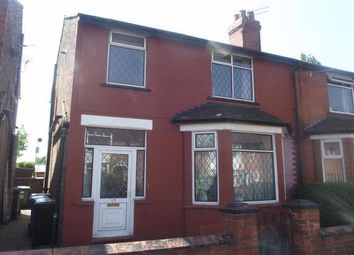 Thumbnail 3 bed semi-detached house to rent in Criccieth Road, Stockport