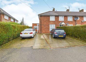 Thumbnail 4 bed end terrace house for sale in Furzefield Road, Welwyn Garden City