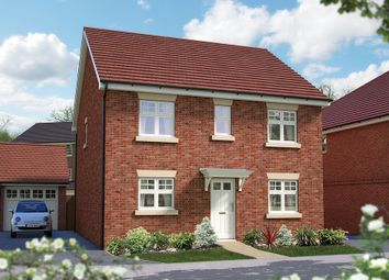 "Thumbnail 4 bed detached house for sale in ""The Buxton"" at Matthewsgreen Road, Wokingham"