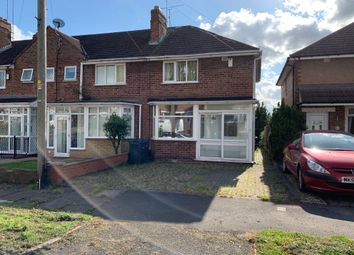 Thumbnail 2 bed end terrace house for sale in Whitburn Avenue, Perry Barr, Birmingham