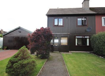 Thumbnail 3 bed semi-detached house for sale in 13 St. Mungo Road, Dalneigh, Inverness, Highland.